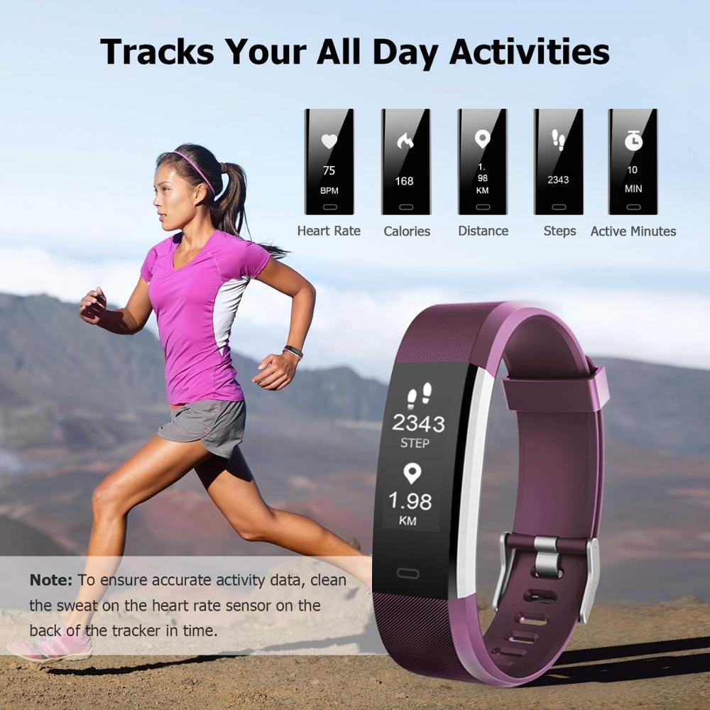Funasera Смарт-часы для мужчин женщин монитор сердечного ритма крови Давление фитнес трекер Смарт-часы спортивные часы для ios android + коробка 6