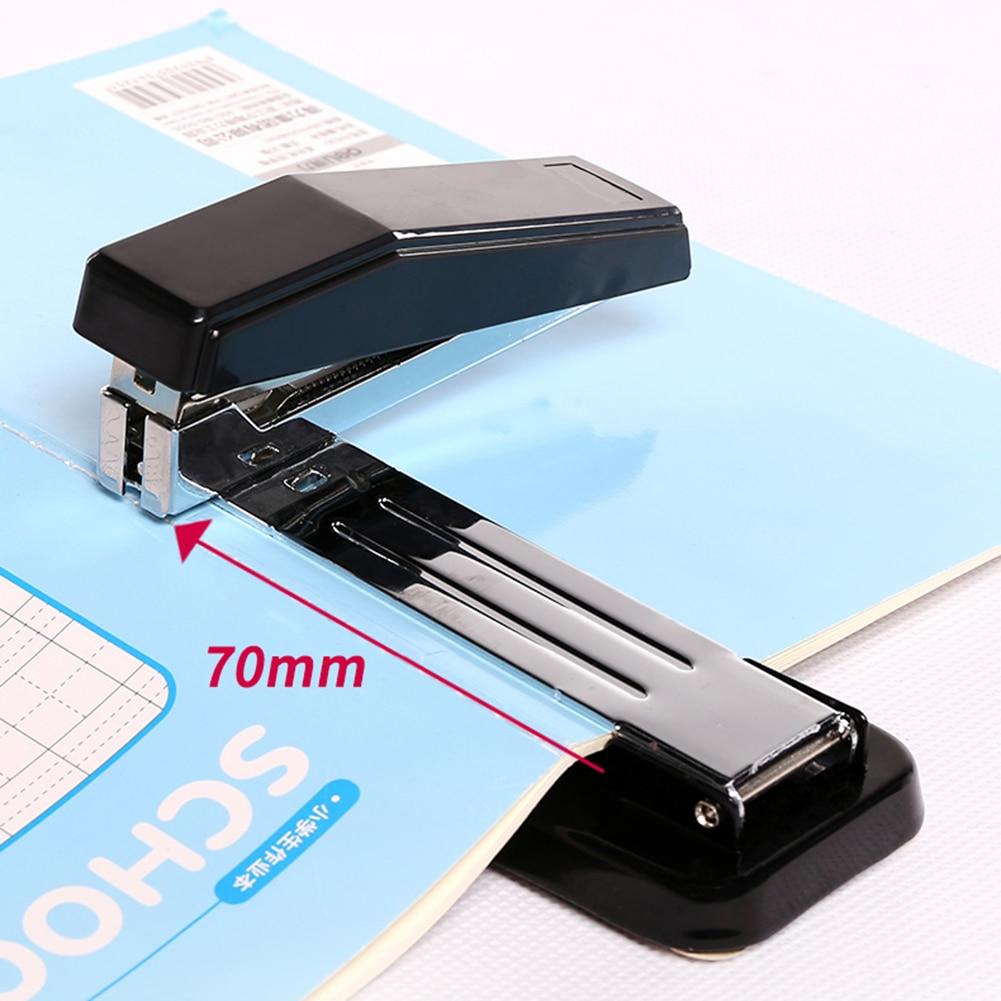 360 Degree Rotating Stapler School Desktop Stapler Portable Standard Staplers For Paper Binding School Office Accessories