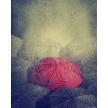 Diy картина по номерам Зонт от дождя комплект маслом Пейзаж