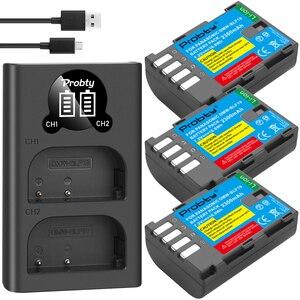 Image 2 - 2300 MAh DMW BLF19 DMW BLF19 BLF19E DMW BLF19e DMW BLF19PP Pin + Đèn Led 2 Cổng USB Sạc Cho Máy Ảnh Panasonic Lumix GH3 GH4 GH5 g9