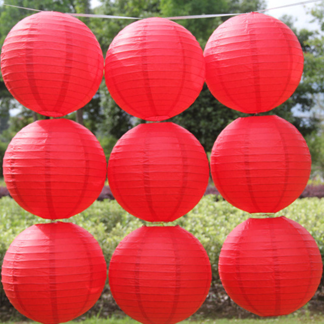 5 Different Color Lanterns / Each Batch Of 16 Inches 40 Cm Wedding Traditional Paper Lanterns Selling Chandeliers Lanterns