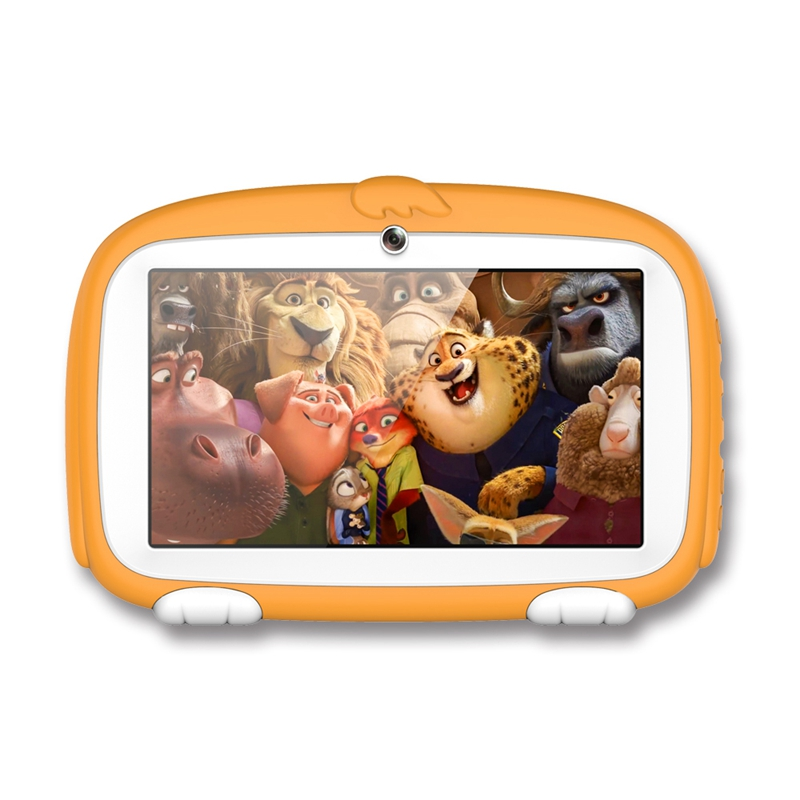 HOT-Kids Tablet PC 7 Inch Android Tablet Quad Core 8GB 1024x600 Screen Children Education Games Babypad Birthday Gift