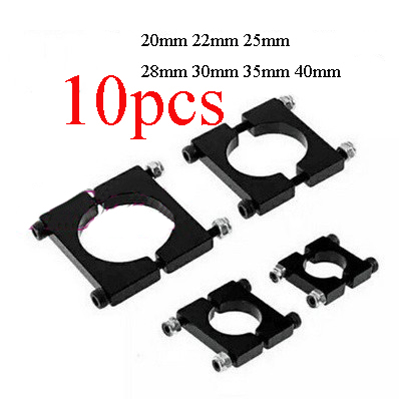 1 Pcs Aluminum 35mm Carbon Fiber Arm Pipe Clamp for Drone Quadcopter Hexacopter