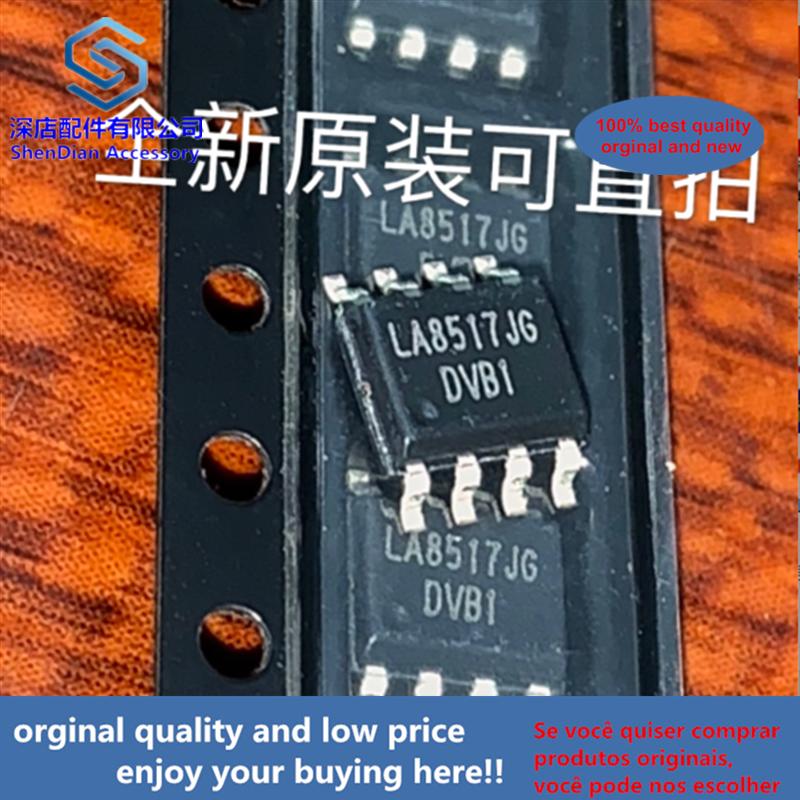 10pcs 100% Orginal And New LA8517JG LINEARA SOP8 LA8517 SOP Best Qualtiy