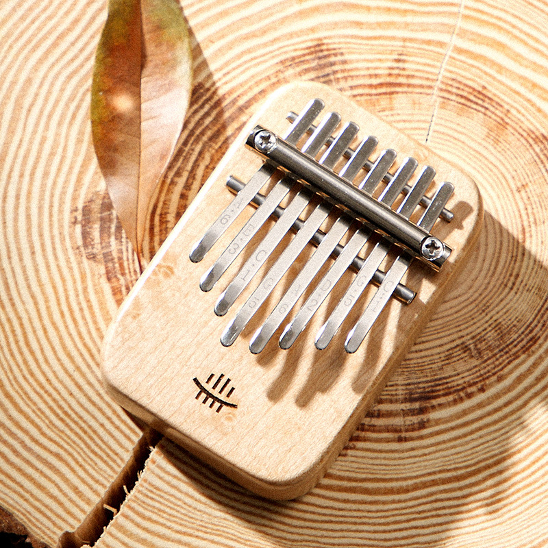 8 Keys Kalimba Thumb Piano High Quality Solid Single Board Mahogany Musical Instruments African Mbira Finger Piano