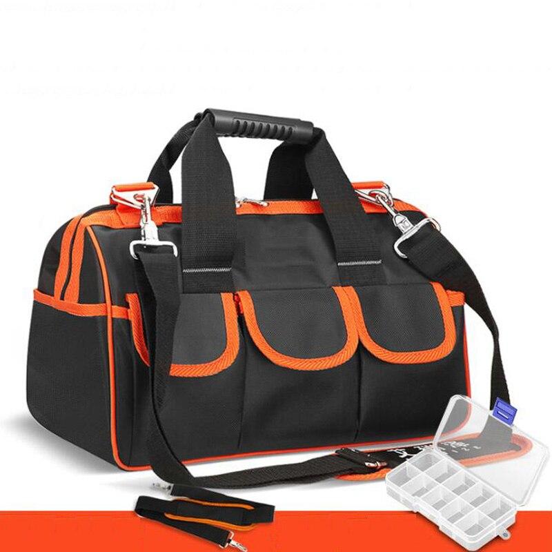 Multi-Function Repair Kit Folding Tool Bag Shoulder Bag Handbag Messenger Bag Tool Storage Bag Home Repair Kit