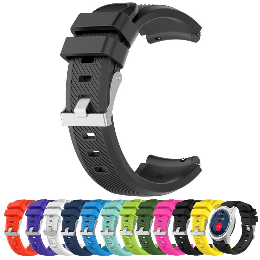 For Fossil Q Explorist HR Gen 4 3 2 Smart Watch Strap Band  For Fossil Gen 4 Q Explorist HR Watchband Silicone Sport Straps