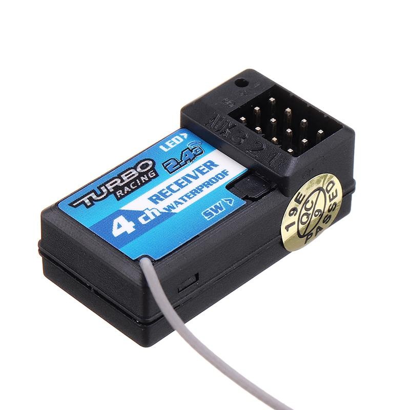 TSD R3860A 3CH 2.4GHz Receiver Frequency-hopping Splash-proof for RC Boat Car