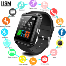 2019 U8 Bluetooth Smart Watch Wristwatch Smartwatch With Sleep Monitor Remote Camera Pedometer For IPhone Samsung Smartphone+Box