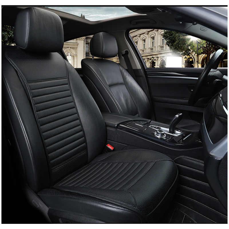 Чехол AUTOYOUTH на сиденье автомобиля, из искусственной кожи, для большинства автомобилей, с тонкой спинкой, 1 шт.