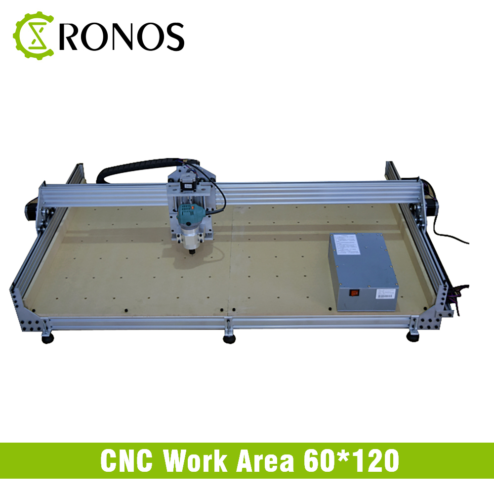 CNC Router Machine 60*120 CM 600W/700W Wood Working CNC Engraving Milling Machine DIY CNC Metal Carving Cutter
