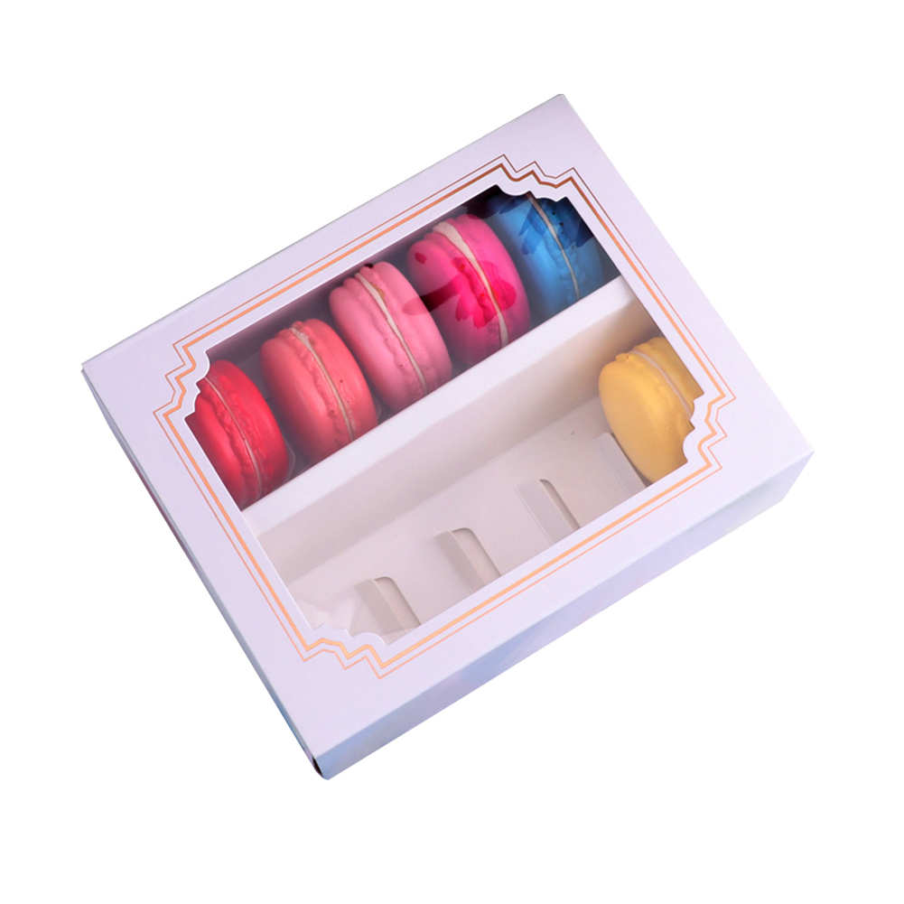 Wedding Cake Packaging Macarons