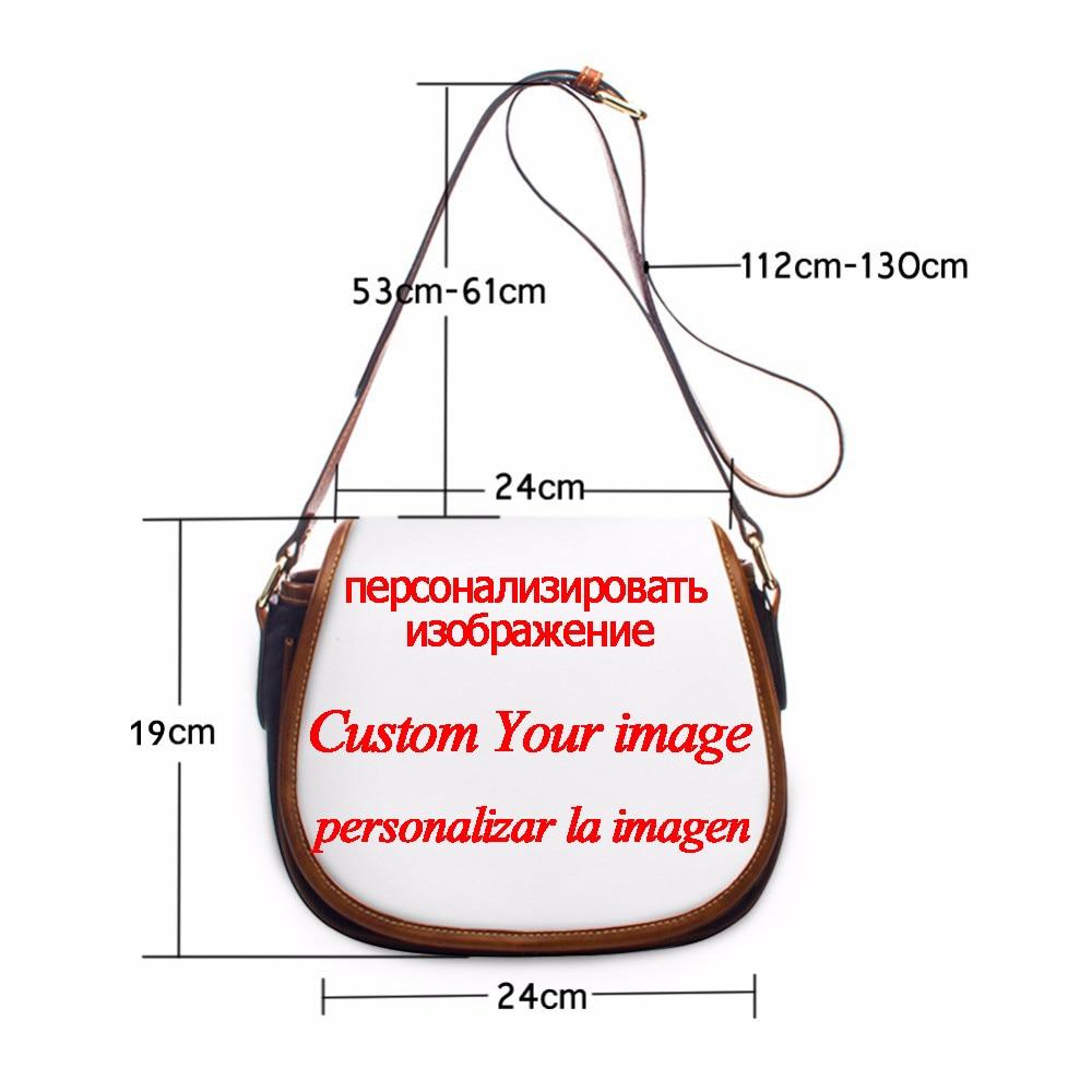 NOISYDESIGNS Black Women Art African Girls Print PU Leather Messenger Bags Crossbody Bag Ladies Luxury Design Saddle Bag Female