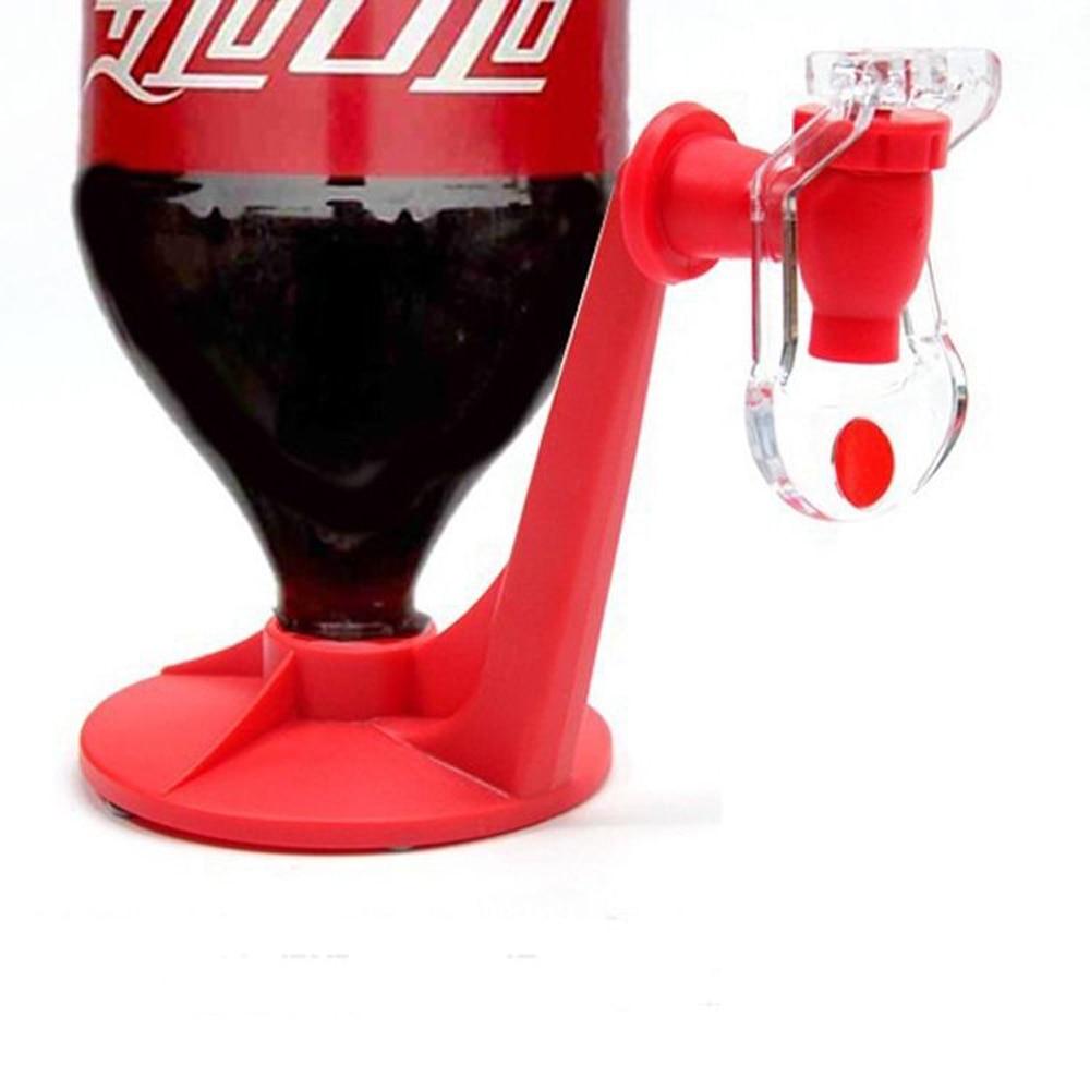H55015b48b8d0440e86bdadece640f39dO Novelty Soda Dispenser Bottle Coke Upside Down Drinking Water Dispense Machine Home Bar Party Gadget