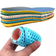 1 para Unisex dezodorant buty wkładki ortopedyczna pianka zachowująca kształt Sport sklepienie łukowe wkładka kobiety mężczyźni lato oddychające podeszwy Pad tanie tanio KAIGOTOQIGO ≤1cm Średnie (b m) Stałe Jednorazowe Anti-śliskie Szok-chłonnym Wytrzymałe Szybkoschnący