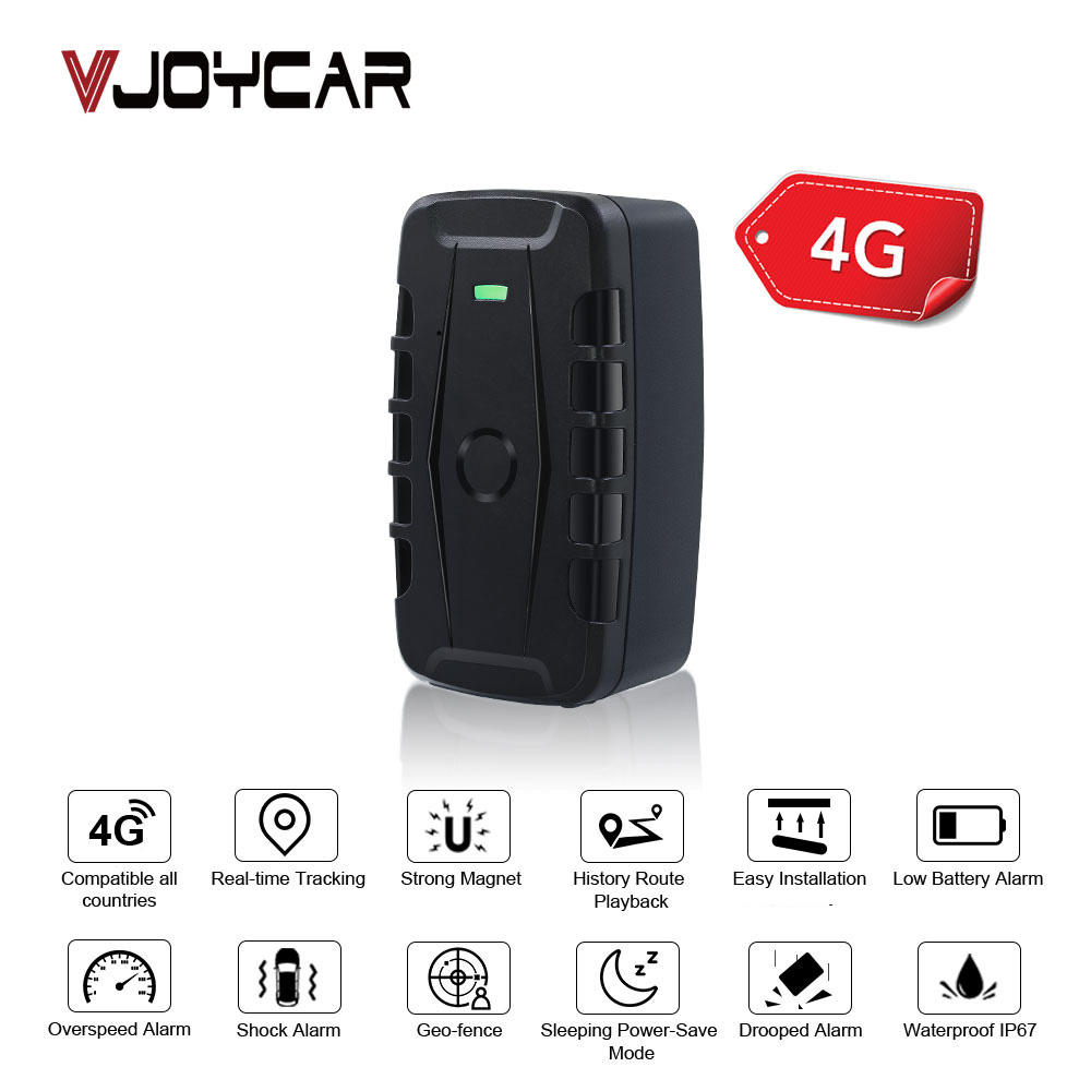 Real 4G LTE Magnet GPS Tracker LK900C 20000mAh Battery 120 Days Standby Waterproof  FDD GPS Asset Locator Dropped Alarm Free APP|GPS Trackers| |  -