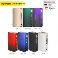 Updated Version!!! Original 220W Vaporesso GEN TC Box MOD W/ All new Axon Chipset E cig Vape Mod VS Vaporesso Polar TC Box MOD
