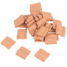 Silica-Gel-Mould House Roof-Tile Building-Scene-Model Miniature Scenario for Turning