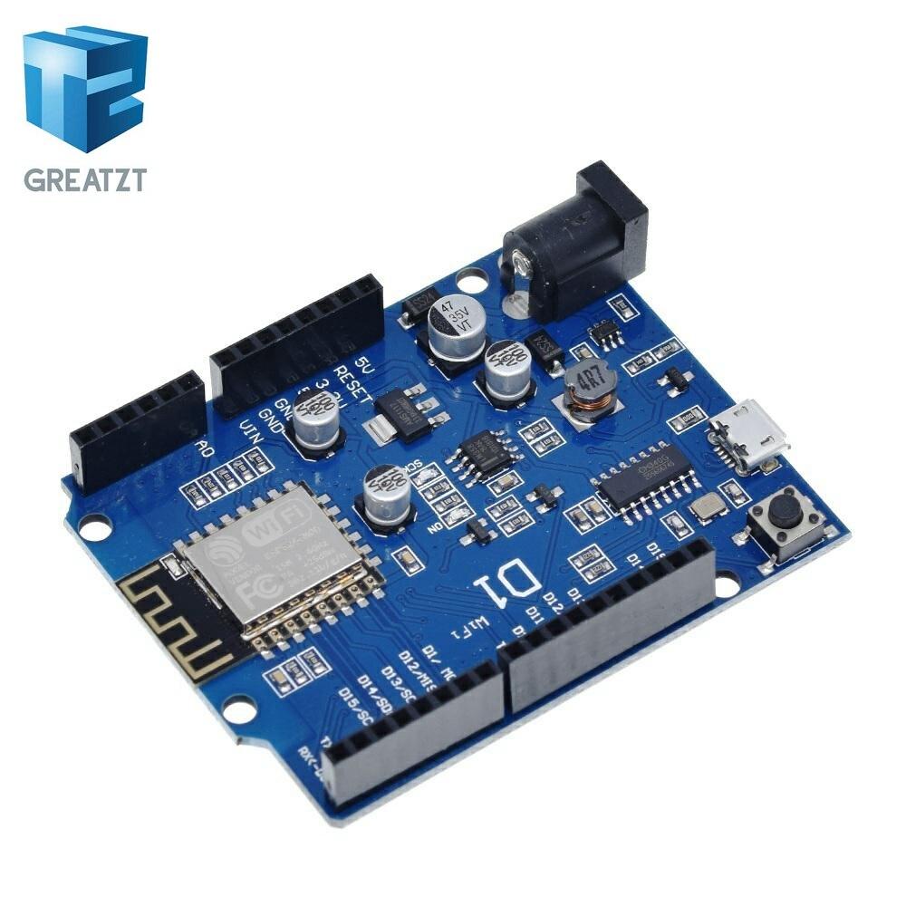 ESP-12E wemos D1 Wi-Fi UNO основе ESP8266 щит для Arduino совместимый