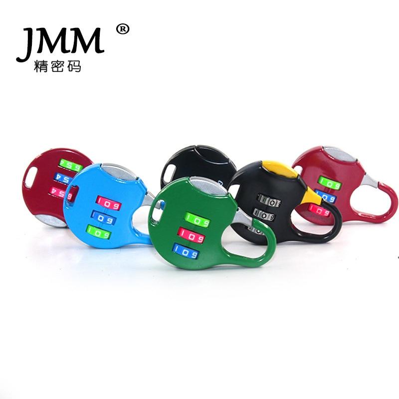 Random Color Cartoon Mini Digital Code Lock Luggage Case Metal Padlock Gym Wardrobe Blister Zinc Alloy Locks Aliexpress