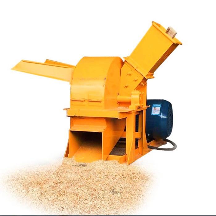 Charcoal Crusher Machine With Cyclone Wood Sawdust Log Making Machine Wood Crusher