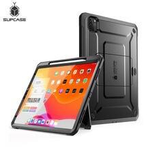 Suporte para ipad pro 11 case (2020) ub pro suporte para apple pencil, carregamento com protetor de tela embutido, cobertura robusta de corpo inteiro