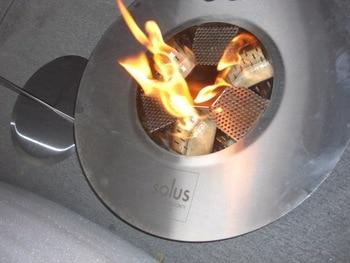 Hot Sale Ethanol Fire Ventless Round Fireplace Freestanding