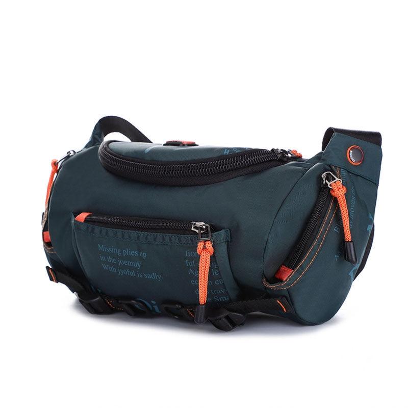 Large Capacity Waist Pack Men Waist Bags Waterproof Nylon Multifunctional Shoulder Chest Bag Travel Man Fanny Bag For Teenage