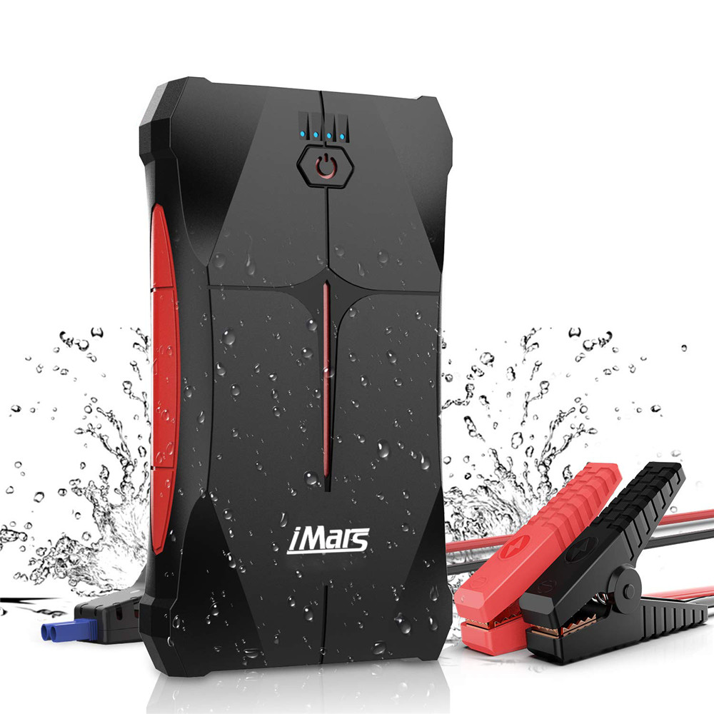 /& USB Quick Charge 3.0 Car Jump Starter 2000 Amp AUTOGEN Portable Booster for Vehicles with Heavy Duty Error-Proof Intelligent Cables for Cars Boats RVs /& Mowers up to 8.0L Gas or 7.0L Diesel