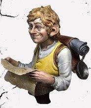 (Cerca de 55mm) busto resina figura modelo kit sem pintura bust478
