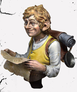 Image 1 - (Cerca de 55mm) busto resina figura modelo kit sem pintura bust478