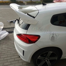 цена на For Volkswagen Scirocco Spoiler 2010+ ABS Material Rear roof Lip Spoiler Window Tail Wings Car Styling