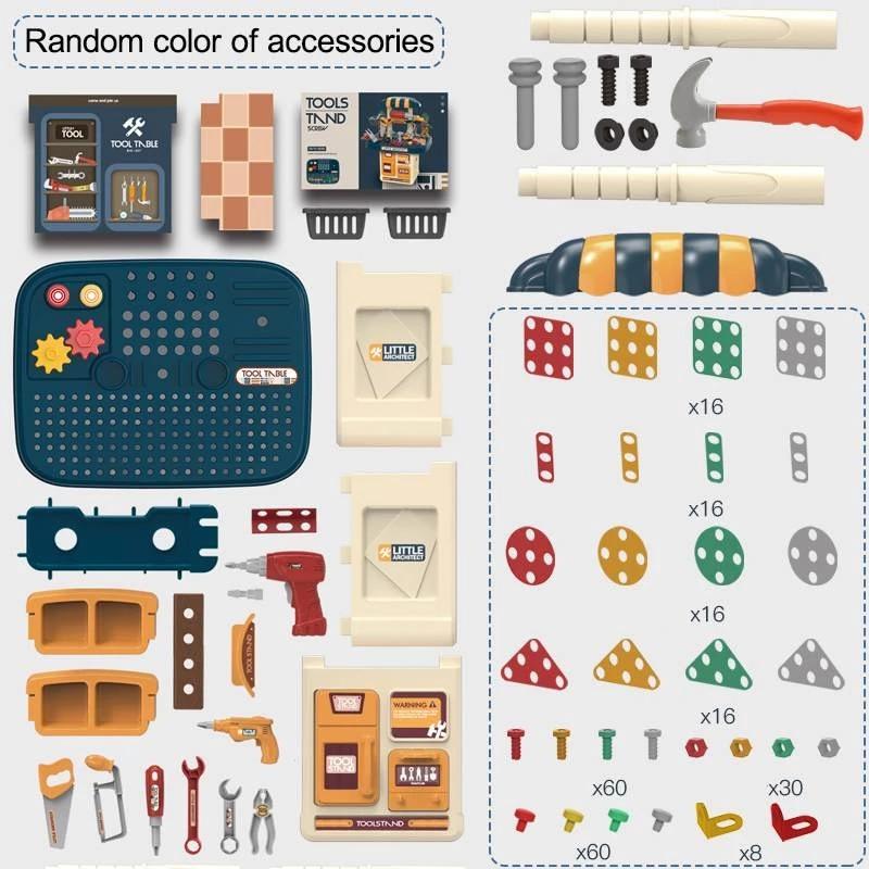 conjunto de ferramentas para bebes tecnologia diy 04
