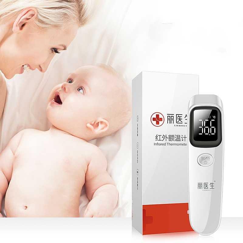 LIERDOCT thermomètre frontal pour bébé mesure rapide et précise LED numérique domestique thermomètre infrarouge sans contact électronique