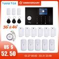 アンドロイド & ios 4 グラム & 3 グラム 11 言語チュウヤ 433 mhz app リモコンワイヤレス wifi 工場 & オフィス & ホームセキュリティ & 盗難警報システム