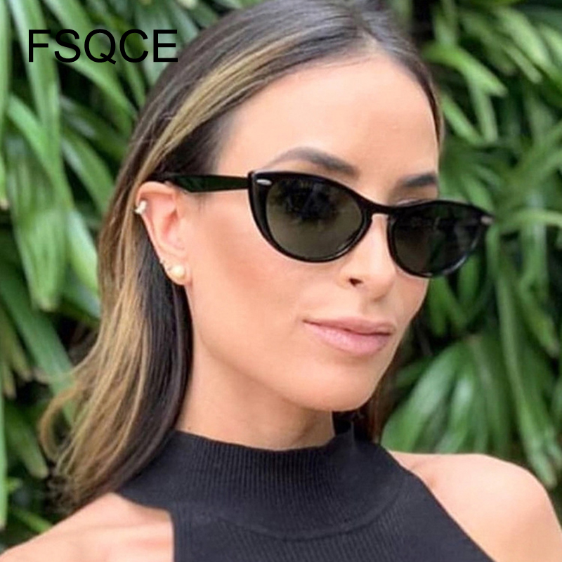 Retro Sunglasses Newest Cat Eye Sunglasses Women Brand Designer UV400 Lens Ladies Fashion Sunglass Vintage Sun Glasses Oculos