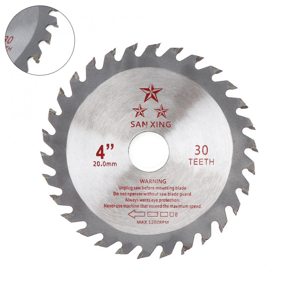 110mm Circular Saw Blade Disc Wood Cutting Tool Aperture 20mm Cutting Disk For Rotating Woodworking Tools