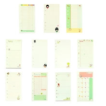A6 Lovely Style 6 Holes Loose Leaf Notebook