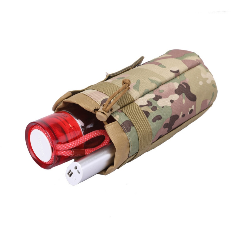2L Tactics Sport Bags Cover  Portable Water Bottle Pouch Camping Kettle Bags For Backpack Vest Belt Travel Cycling Hiking Tool
