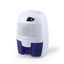 Мини Осушитель воздуха, осушитель влаги, Электрический Осушитель воздуха с 500 мл баком для воды для дома, спальни, кухни, офиса