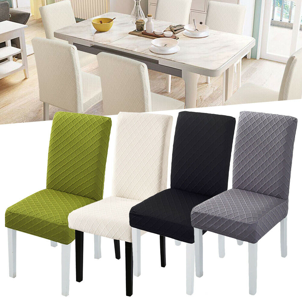 Thick Material Stretch Chair Cover For Kitchen/Wedding Elastic Chair Covers Spandex Dining Room Chair Cover With Back Modern