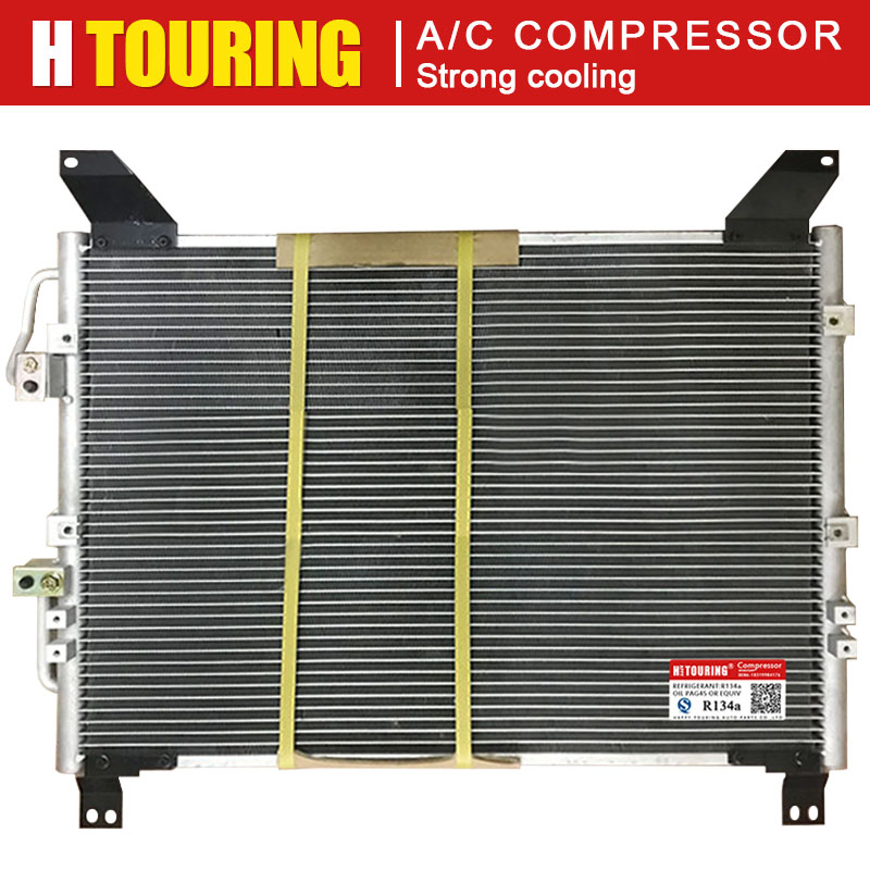 Car Air Cooler AC Air Conditioning Conditioner Condenser for SSANGYONG Rexton RX270 AC Condenser 657*459mm