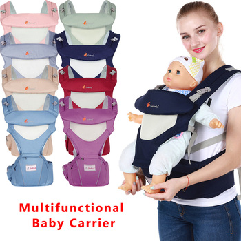 Breathable Ergonomics Baby Carrier Hipseat Portable Kangaroo Carrier Baby Backpack For Carring Children Wrap Infant Sling цена 2017