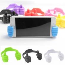Adjustable Lazy Holder Thumb Desktop Mount Bracket Portable Desk Mobile Phone Arm Holder Universal Cell Stand for All Smartphone