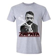 Camiseta de Emiliano Zapata, camisa de La Revolution mexicana, líder de Morelos, zapato, patrón, Jefe