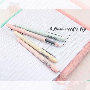 Высокое качество модные гелевые ручки маленький белый горошек RP07 0,5 мм записи Макарон Цвет Офис школа студент канцелярских принадлежностей|Гелевые ручки|   | АлиЭкспресс