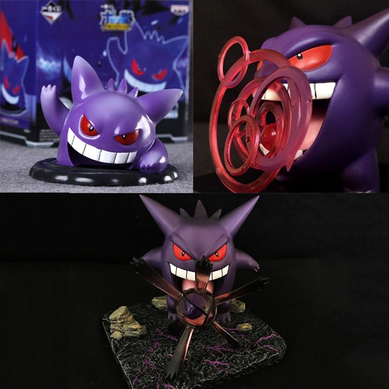 Pokemon Figure Collection Gengar Ectoplasma 9cm Battle Figure Original Wct