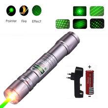 Лазерная указка, мощный охотничий зеленый лазер, Тактический лазерный прицел, ручка 303, горящий лазер, мощный яркий лазерный указатель, фона...