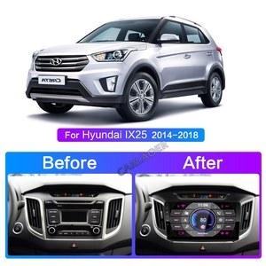 Image 3 - 2 Din Android 8,1 auto Radio multimedia player GPS Navigation Für hyundai ix25 creta 2015 2018 2GB RAM 32GB ROM 2din video Player