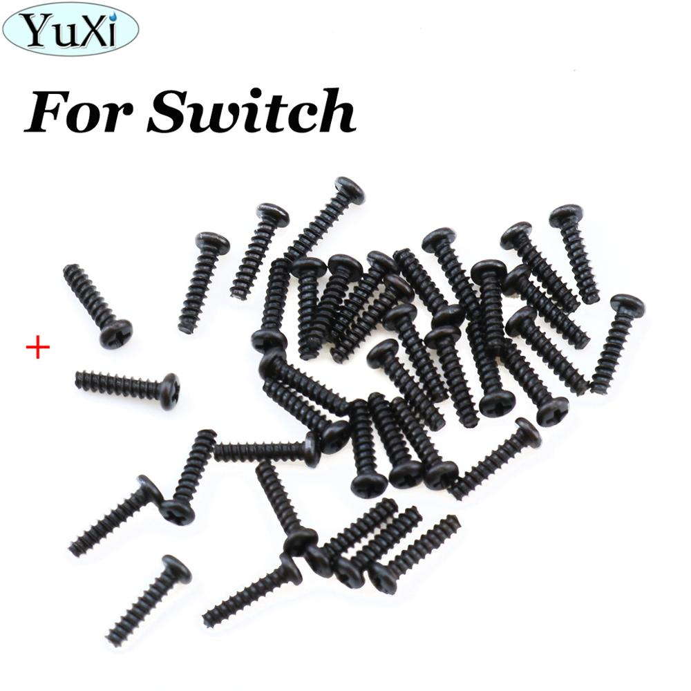 YuXi 10pcs/lot + Shape Type Screws For Nintend NS NX Joy Con Replacement Three Wings Screws For Switch Screws